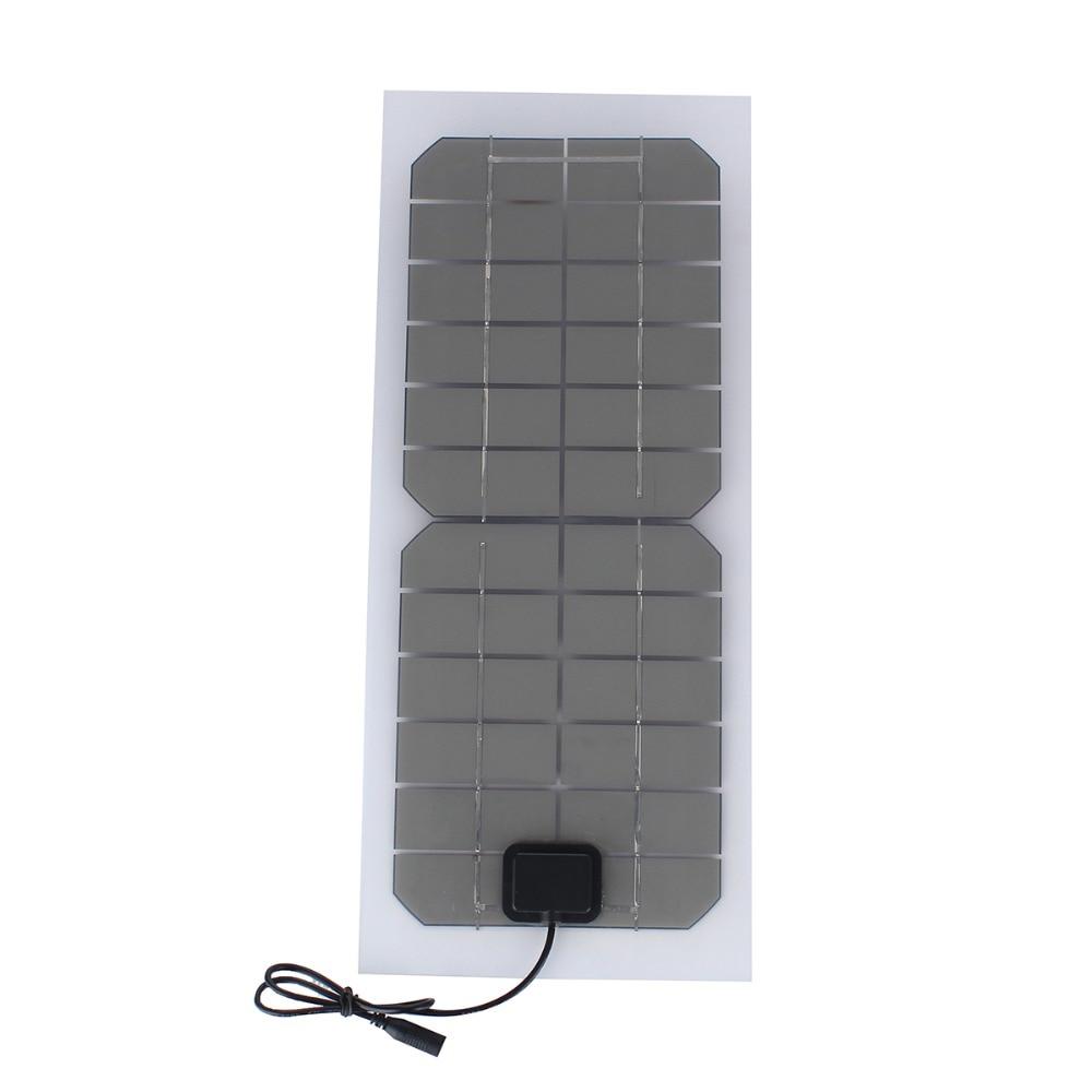 SUNWALK Monokristalline silizium 10 Watt 12 V Solar Panel mit DC ...