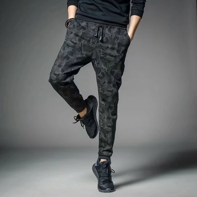 2019 Fashion Summer Thin Casual Pants Fast Drying Men Joggers Street Wear Sweatpants Foot Strap Hip Hop Trousers Full Length 4xl