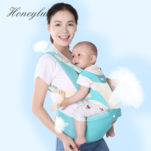 Honeylulu Silicone Mesh Seat Summer Baby Carrier Breathable Sling For Newborns Kangaroo Ergoryukzak Backpack Hipseat