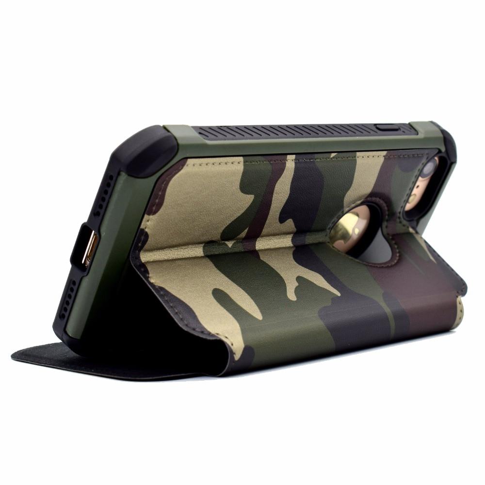Для iphone7/7/6 s/6/5S SE плюс армия зеленый камуфляж случае двойной Слои прочный шок-absoptionn задняя крышка для iPhone 7 4.7/5.5 дюймов