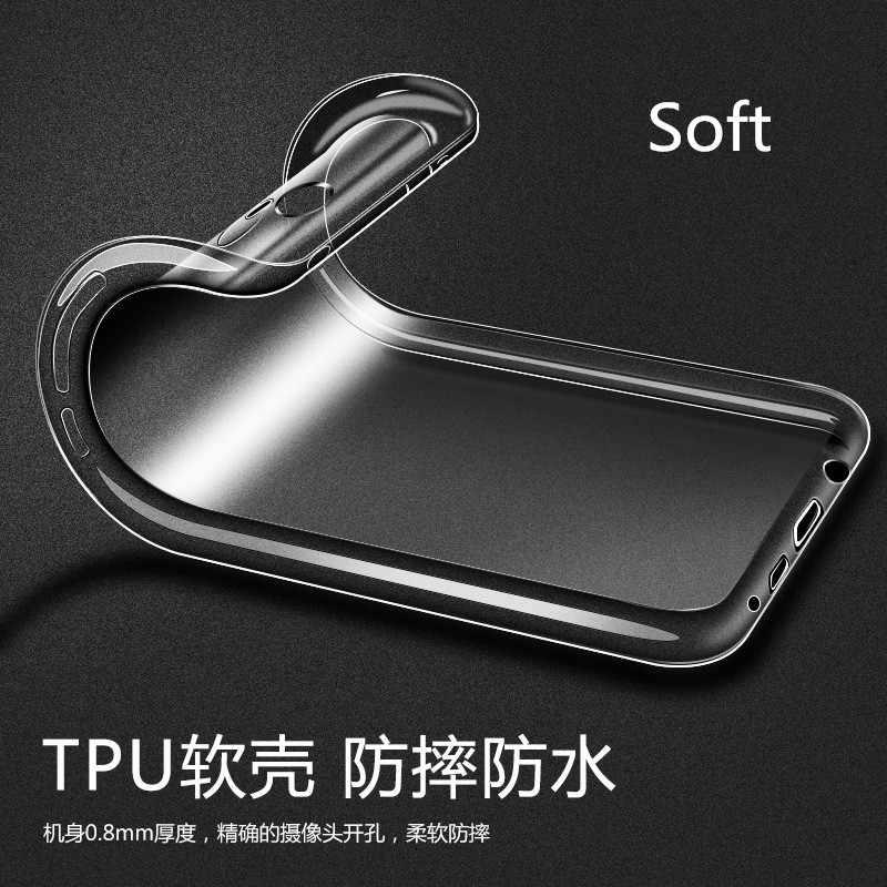 Soft clear Bumper etui For Xiaomi Mi A2 lite Redmi Note 5 Pro Case 64GB Shockproof Back Cover For Redmi Note 6 Pro Case Global