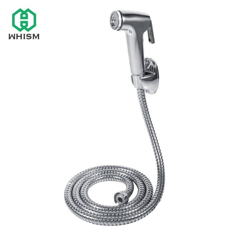 WHISM 1 Conjunto Conjunto para Banheiro Chuveiro De Poupança de Água Do Chuveiro de Alta Pressão Definir Bidé Sanita Arma Pulverizador Chuveiro de Mão conjuntos