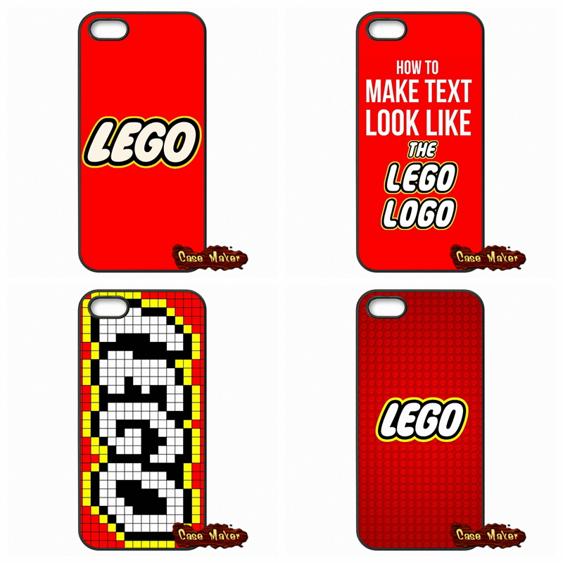 Funny Lego Logo Cell Phone Case Cover For iPhone SE 4 4S 5S 5 5C 6 ...