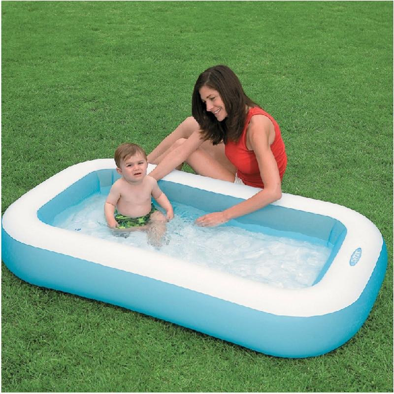 INTEX 57403 166*100*28 cm d'été jouer piscine piscine gonflable piscine hors sol rectangulaire piscine B31011