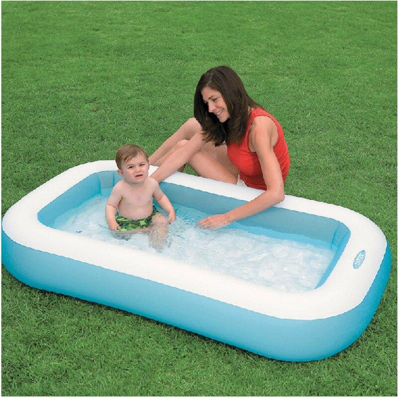 INTEX 57403 166*100*28 cm piscine d'été piscine gonflable piscine hors sol piscine rectangulaire B31011