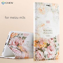 Meizu m3s phone case,3D Relief Painting Flip Stand Leather Cover Case for meizu m3s mini (5.0 inch) with free Screen Film