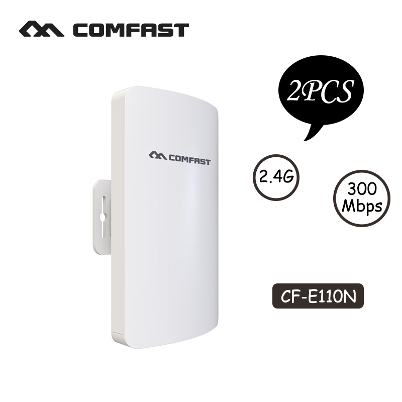 COMFAST mini wireless bridge outdoor CPE wifi router repeater 2.4ghz 300mbps for ip camera project 1-2km long range amplifier