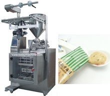 style rotary chocolate bar protein bar cookies automatic flow packing machine