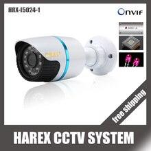 H.264/H.265 POE водонепроницаемый 1080 P/720 P пуля IP камера наружная Безопасность 24 шт. светодиодный ONVIF металлический чехол IP CCTV Cam система