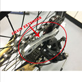 MUQZI РАСШИРИТЕЛЬ ЦЕПИ для горных и дорожных велосипедов и птиц  изогнутый дизайн колеса