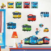 TOYO Tayo The Little Bus  Wall Sticker Decal Decor Poster Mural  removable  d222 murray w key words 12b mountain adventure