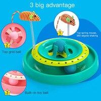 Huisdier Speelgoed Kat Krabben Speelgoed Gek ABS met Crystal Bells Oefening Levert Play Leren Intelligentie