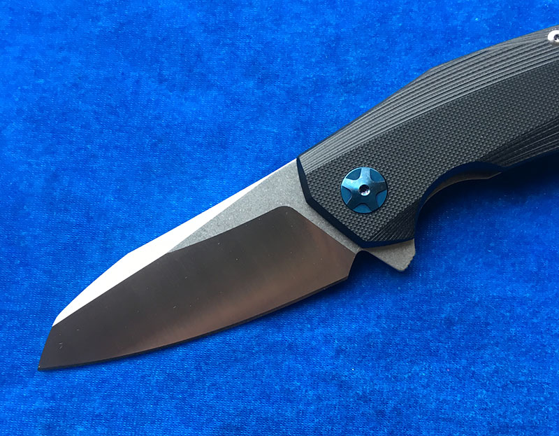 Image 2 - LEMIFSHE ZT 0456 Tactical Folding Knife G10 Handle D2 Blade Bearing Flipper Hunting Knife Pocket Camping Survival EDC Tools-in Knives from Tools