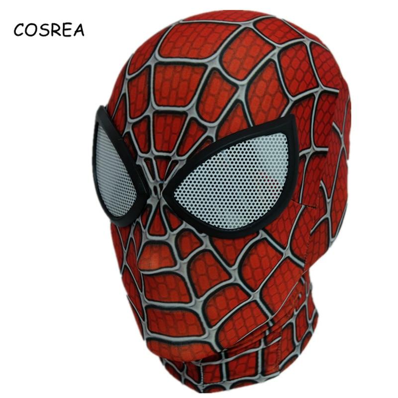 Venom Spiderman Mask Cosplay Costumes Black Edward Brock Dark Spider