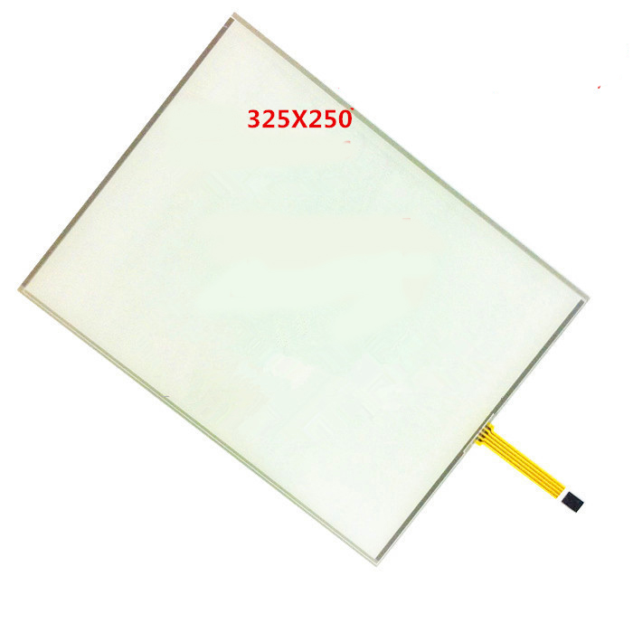 15 inch 4-wire resistance small mouth touch screen PMMA high hardness shatterproof four-wire touch screen 15 325x250 zb084jc uv 8 4 inch 800x600 4 3 vga pc signal portable high sensitivity four wire resistance touch monitor lcd screen display