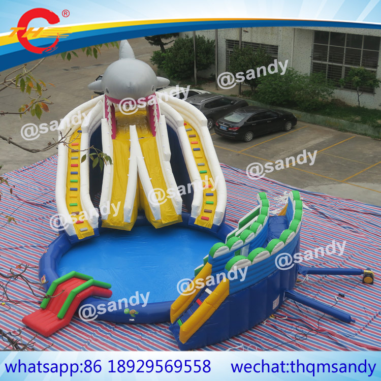 Inflatable Water Slide Port Macquarie: Free Sea Ship To Port,commercial Giant Inflatable Aqua