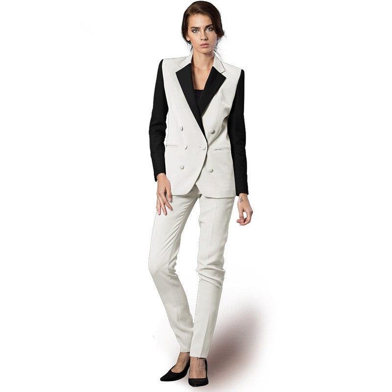 Jacket + Pants Women Business Suits Formal Suits Slim Fit Pant Suits Styles Stylish Uniforms Womens Pants 2 Office Ladies