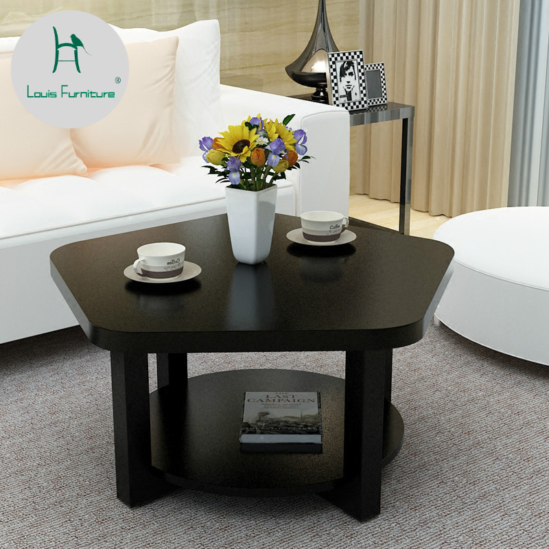 Us 400 Louis Fashion Coffee Tables Minimalist Simple Living Room Mini Economy Small Apartment Modern In End Tables From Furniture On Aliexpress