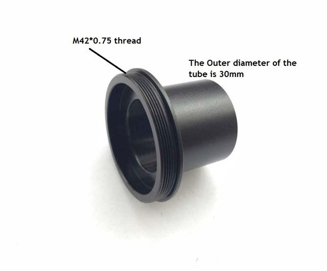 Online shop t mount mm bis mm mikroskop kamera okular ring