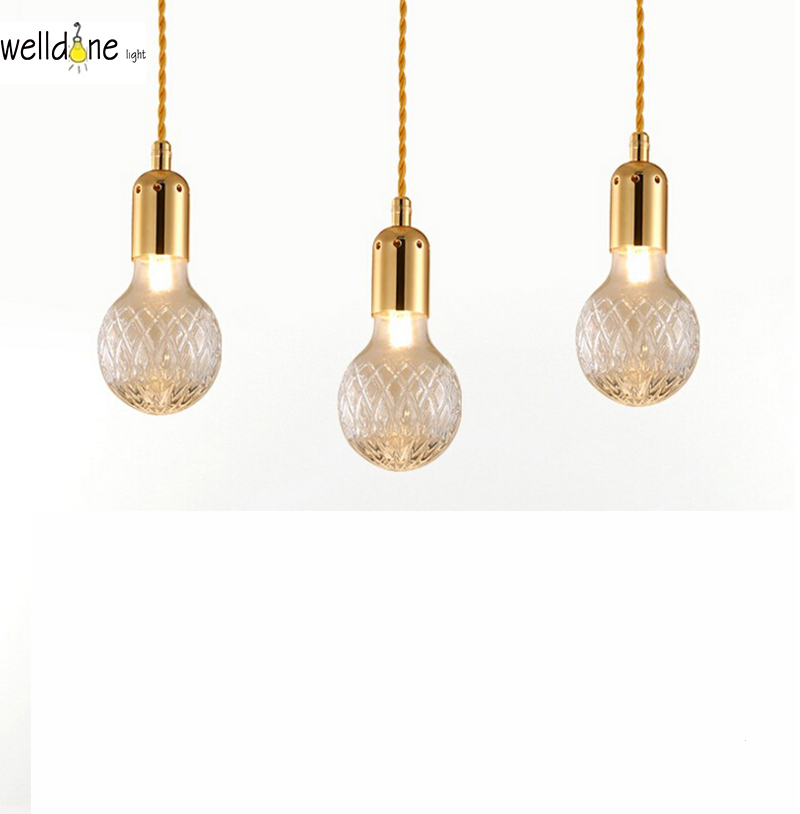 Contemporary British Design replica Lee Crystal Bulb Pendant lamp for hotel restaurant pavilion bedroom living room decoration литой диск replica fr lx 98 8 5x20 5x150 d110 2 et54 gmf