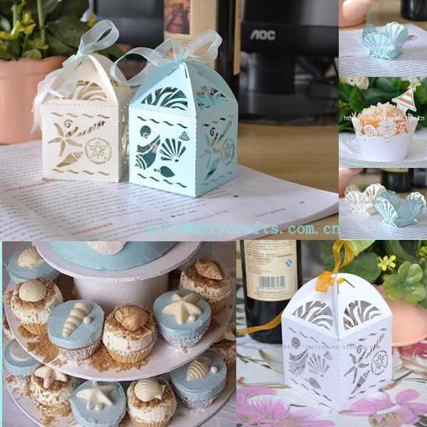 Sea Time Ocean Theme European Wedding Favors The Uniquely Designed Seashells And Starfish Gift Box Thank You Bag In Bags Wring Supplies From Home