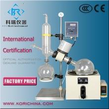 Chemical Vacuum Rotovapor Manual lift 3l Heating bath Rotary Evaporator