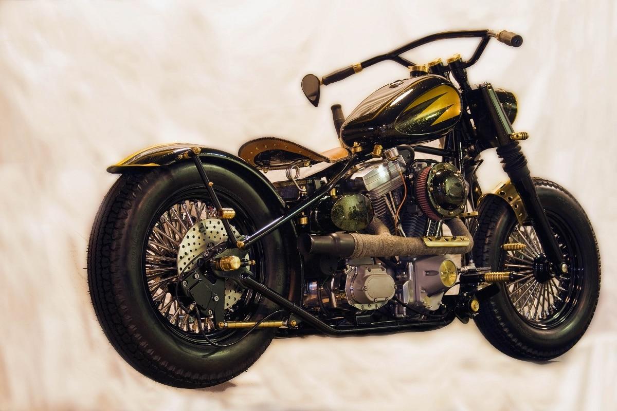 Us 743 38 Di Scontocaldo Freddo Custom Chopper Moto Tuning Bici Kd402 Living Room Della Parete Della Casa Di Arte Moderna Della Decorazione