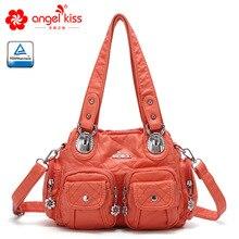Angelkiss Роскошные Сумки женские Сумки Дизайнерская мягкая кожаная сумка летняя сумка через плечо Женская Повседневная сумка