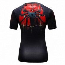 2017 Star Wars Cooling Avengers Superhero Superman Captain America Casual T Shirt Women's compression bodybuilding shirt