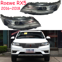 Halogen Accessory Parts Lamp Styling Assessoires LED Drl Side Turn Signal Automobiles Roewe Rx5 Headlights Car Lights Assembly