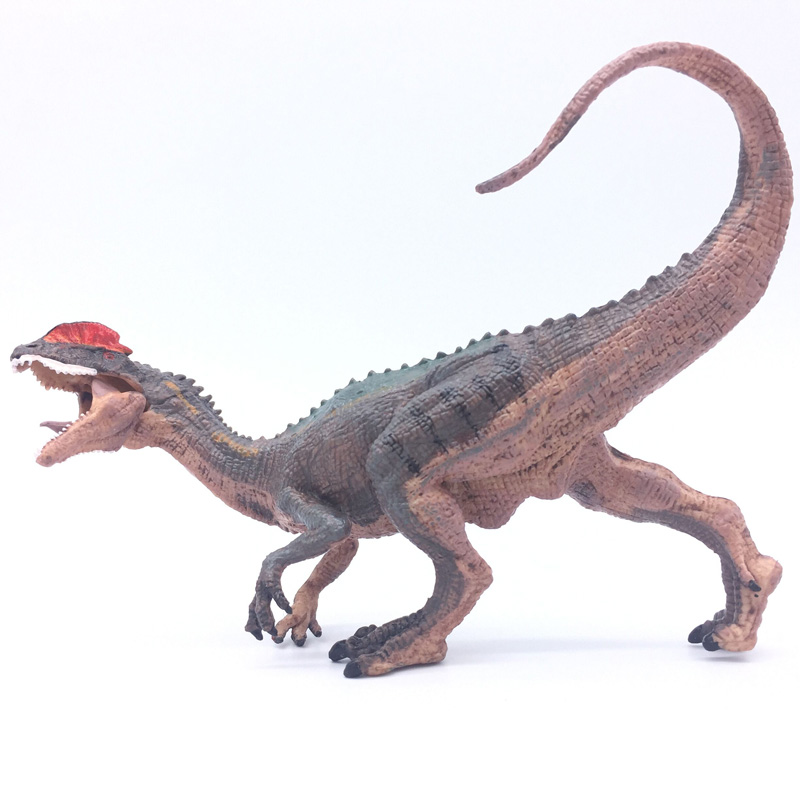 Prehistoric Jurassic Classic Dinosaur Model Action Figures Carnivorous Dilophosaurus Tyrannosaurus T-Rex Model Kids Toys the dinosaur island jurassic infrared remote control electric super large tyrannosaurus rex model children s toy