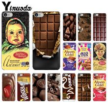 Yinuoda alenka bar wonka chocolate TPU Soft Silicone Transparent Phone Case for iPhone X XS MAX 6 6S 7 7plus 8 8Plus 5 5S XR
