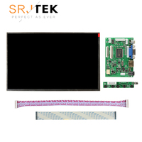 10.1 inch High resolution 1280x800 Screen Display LCD EJ101IA 01G with Remote Driver Control Board 2AV HDMI VGA for Rasbperry Pi