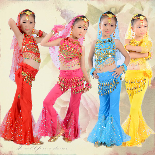 oriental dance costumes indian dress for kids girls children dresses india belly dance clothes for sale bellydance child indian