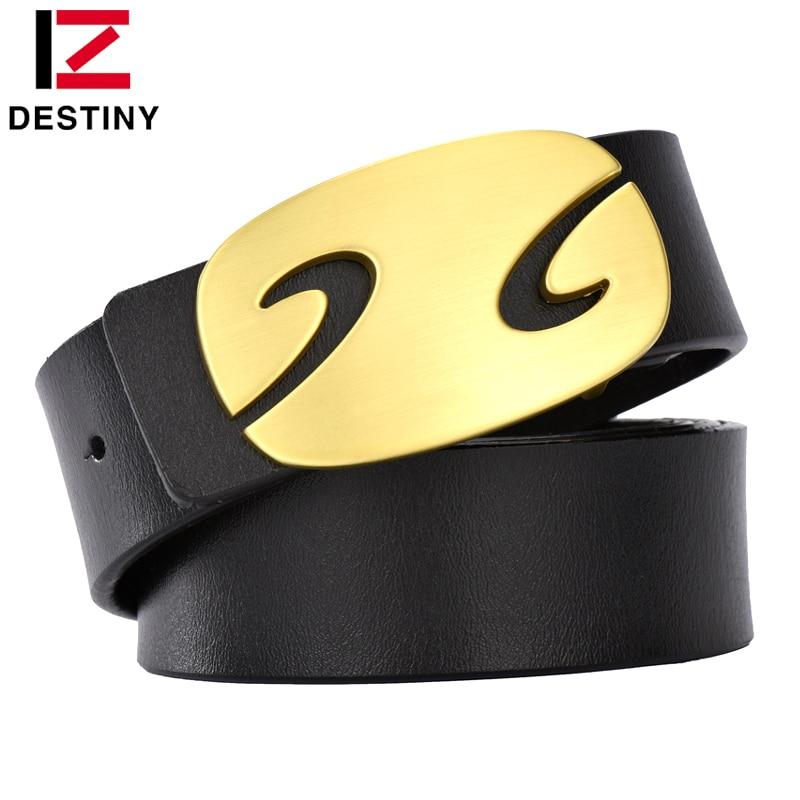 DESTINO Los nuevos cinturones para hombre Diseñador de lujo Cuero - Accesorios para la ropa