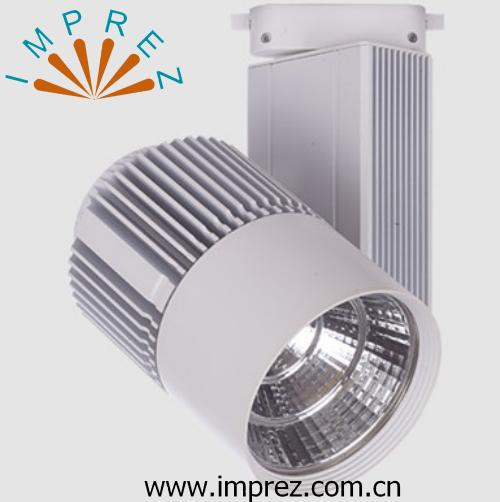 30w Led Track Lighting Fixtures: LED Track Light Dimmable 30w Led Spot For Exhibition Hall