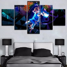 The Legend of Zelda Game Modern Decor 5 Pieces Print Poster Painting Wall Art Canvas HD Printed Living Room Artwork