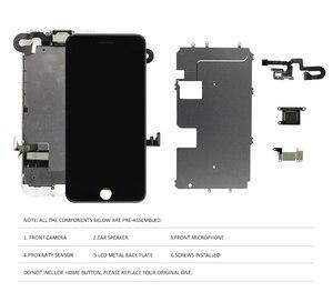 Image 3 - AAA Vollen Satz Für iPhone 7 8 Plus 7P 8 P LCD Display Touchscreen Digitizer Montage Ersatz Komplette 100% getestet Frontkamera