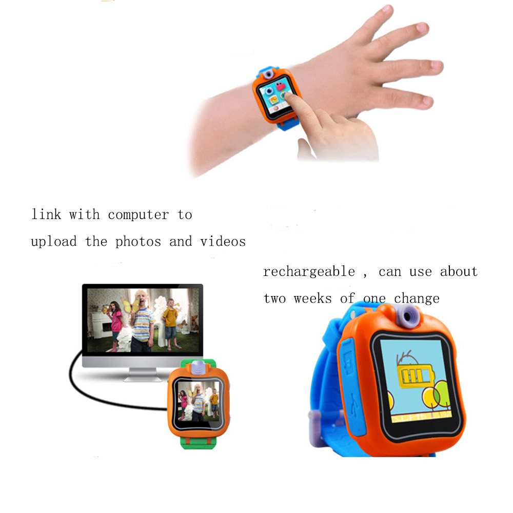 Game Smart Watch 1.5 inch touch screen kids smart watch with Virtual Cyber Pet Camera Video Alarm Clock Kids Toy Wrist Watch