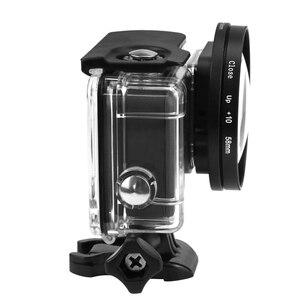 Image 3 - SHOOT 58mm grossissement objectif rapproché objectif Macro pour Gopro Hero 7 6 5 noir coque étanche dorigine Go Pro 6 5 7 accessoires