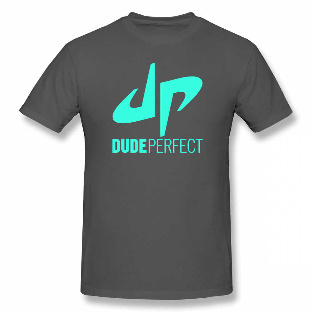 f7fc4ab61f10e ... Dude Perfect T Shirt Dude Perfect Logo T-Shirt Funny Male Tee Shirt  Plus size ...