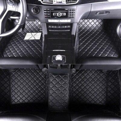 SUNNY FOX Car floor mats for Volkswagen Beetle CC Eos Golf Jetta Tiguan Touareg sharan 5D car styling carpet floor liner