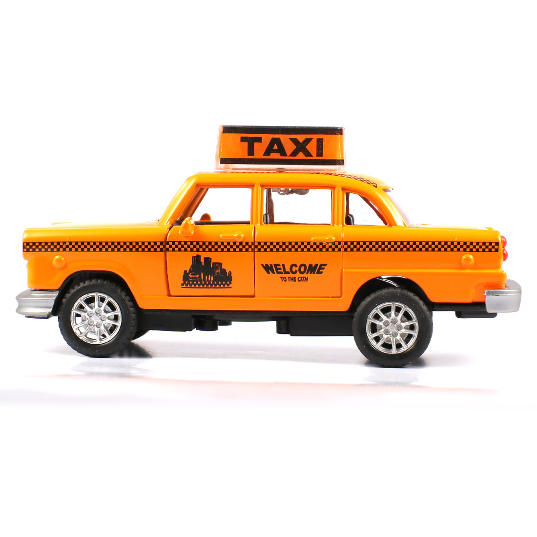 Aliexpress Com Buy Mini Yellow Taxi Car Diecast Metal Alloy  # Modele Banc En Bois