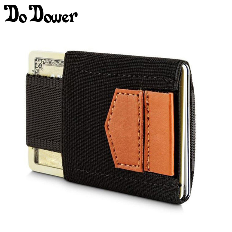 Slim Minimalist Wallet For Men Women Mini Wallets Credit Card Holder ...