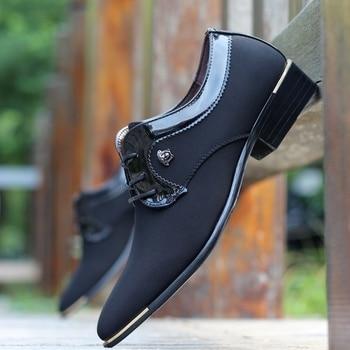 Zapatos nobles para hombre, versión de código, Zapatos de hombre, Baile latino, Zapatos de hombre para banquete, Zapatos de cuero, zapatillas de lona