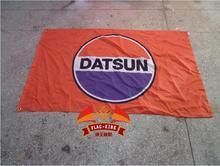 NISSAN DATSUN racing flag ,100% polyster 90*150 CM flag,flag king