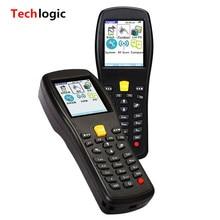 Techlogic X3 Inventario de Almacén de Código de Barras de Mano PDA Terminal para Supermerket Wireless Laser Barcode Scanner Bar Code Reader