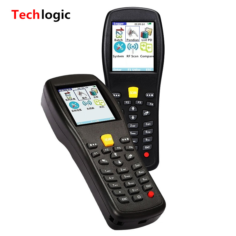 Techlogic X3 Wireless Barcode Scanner Inventory Bar Code Scanner Handheld Terminal PDA Laser Barcode Reader Bar Code Gun wireless data collector handheld barcode reader scanner laser bar code real time pos terminal nt c6