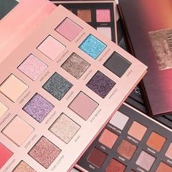 FOCALLURE 18 Colors Eyeshadow Pallete Easy To Wear Glitter Eye Makeup Long-lasting Matte Eye Shadow Cosmetic