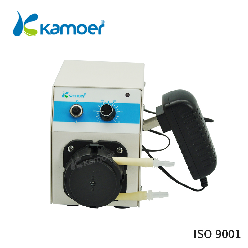 Kamoer KCP PRO Laboratory intelligent pump machine adjustable peristaltic pump mini electric dosing pump 24V micro water pump kamoer kcs mini peristaltic pump stepper motor 24v electric water pump
